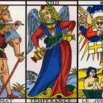 Расклад на удачу — Звезда, Шут, Умеренность, Суд, Влюбленные