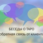 Беседы о Таро: точность Таро предсказание и степень подробности ответа