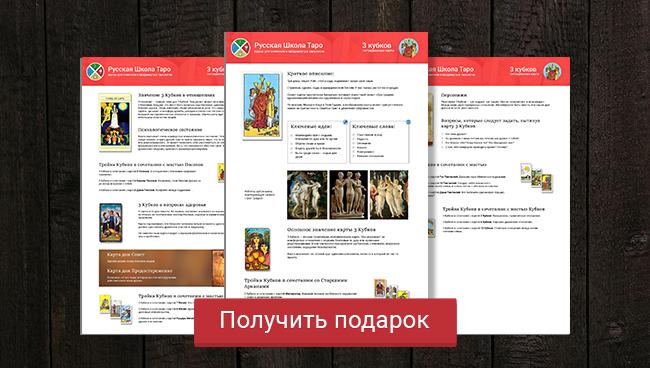 Подарок PDF 3 кубков