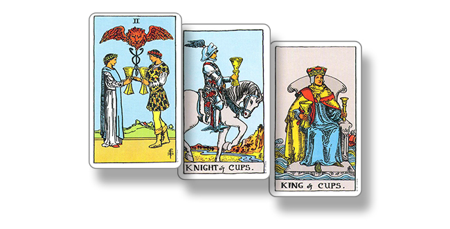 2 Кубков, Рыцарь Кубков, Король Кубков