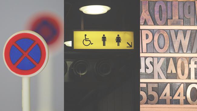 Знаки, отражающие устойчивые ассоциации