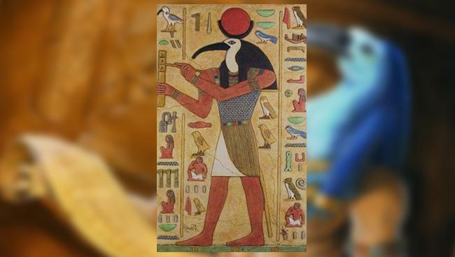 Древнеегипетский Бог Мудрости - Тот