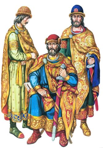 Киевские князья в Х веке