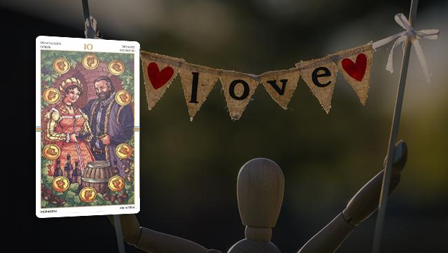 Таро гороскоп для Козерогов на январь 2018: любовь и отношения