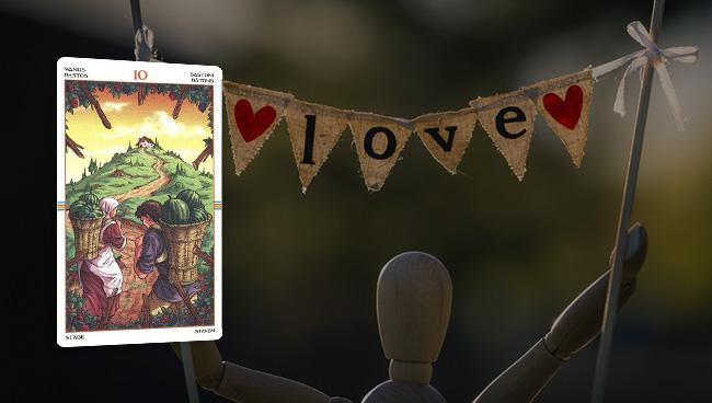 Таро гороскоп для Львов на январь 2018: любовь и отношения