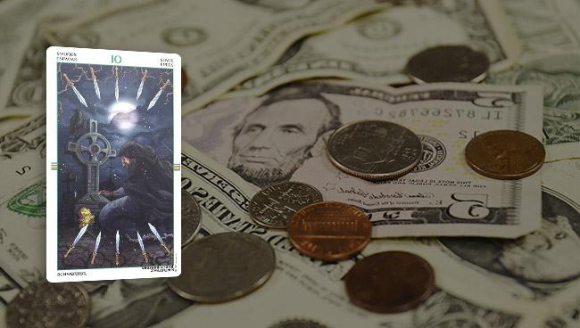 Таро гороскоп для Овнов на январь 2018 года деньги, финансы, работа