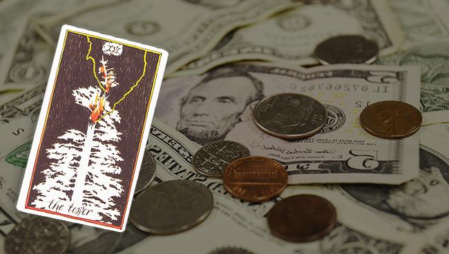 Таро гороскоп для Дев на февраль: финансы