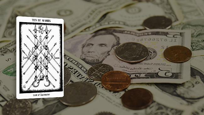 Таро гороскоп для Овнов на март в финансах, карьере