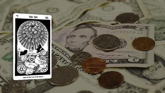 Таро гороскоп для Тельцов на март в финансовых вопросах