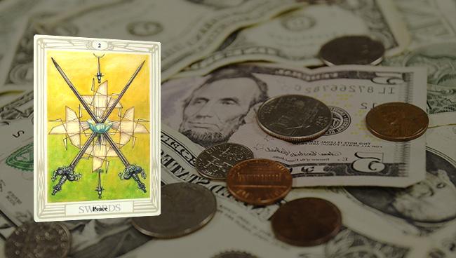 Таро гороскоп для Весов на апрель финансы