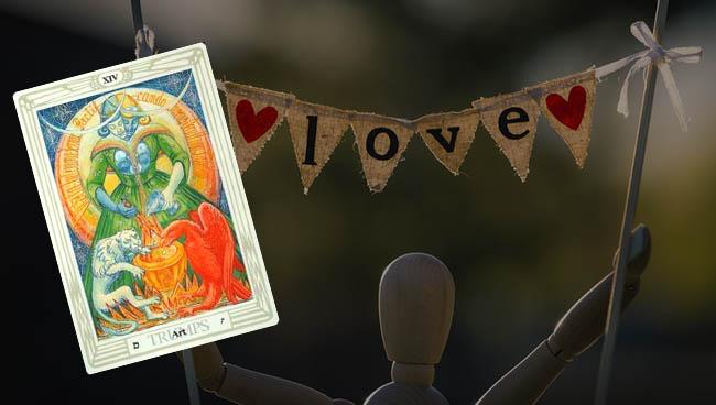 Таро прогноз для Раков на апрель в отношениях и любви