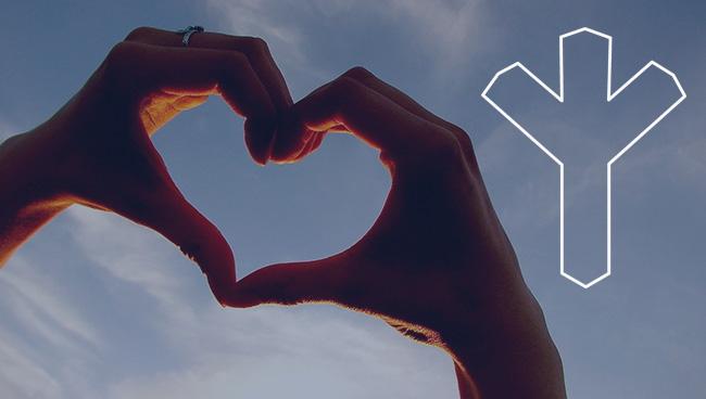 Руна Мир значение в отношениях, любви