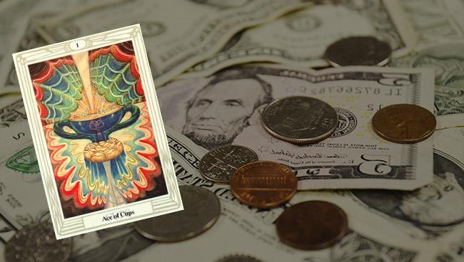 Таро прогноз для Тельцов на апрель в финансах