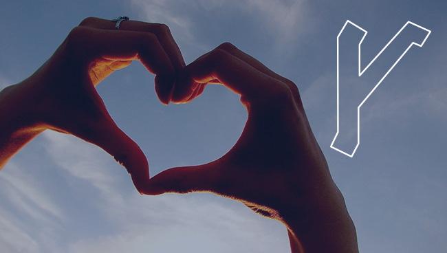 Руна Крада значение в отношениях и любви