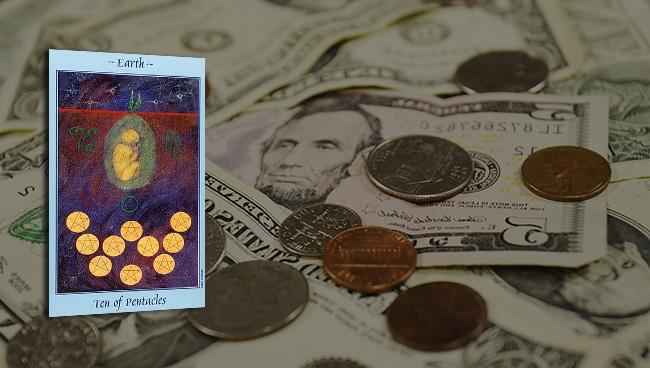 Таро прогноз для Тельцов на май в финансах и работе