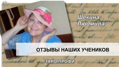 Шекина Людмила отзыв Таро Профи