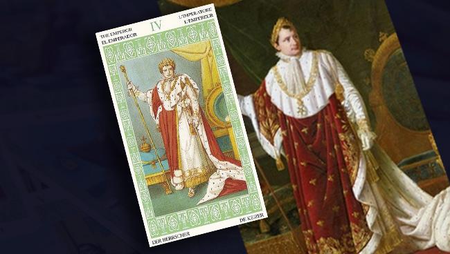 Император Таро Ленорман