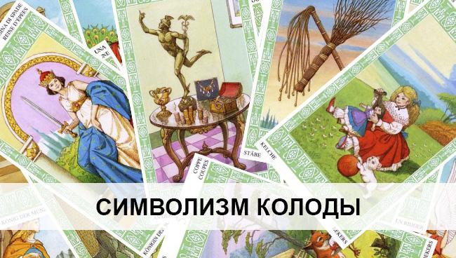 Символизм колоды Таро Ленорман