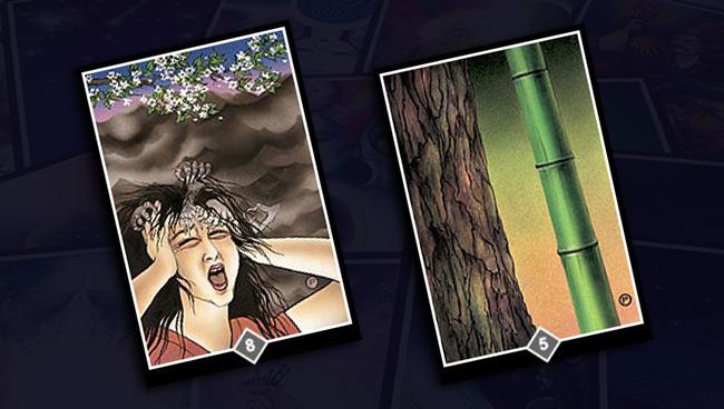 Вина (8 Облаков) и Сравнение (5 Облаков) Ошо Дзен Таро