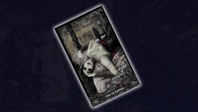 10 Ножей Таро Вампиров