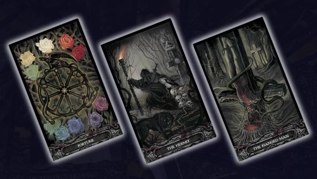 Судьба, Отшельник и Повешенный Таро Вампиров