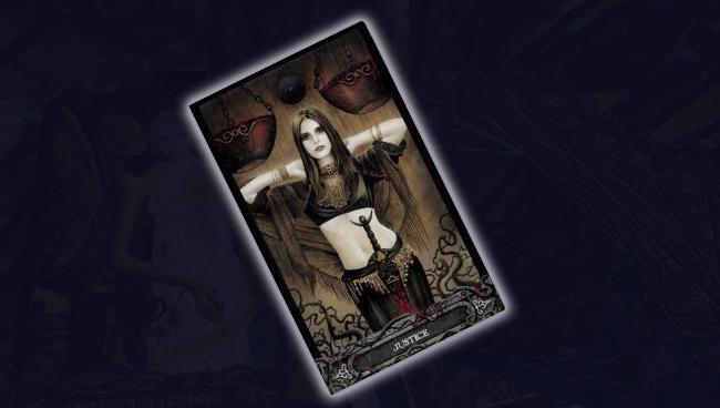 Cправедливость Таро Вампиров