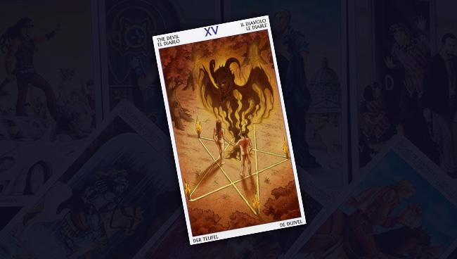 Таро 78 Дверей Дьявол