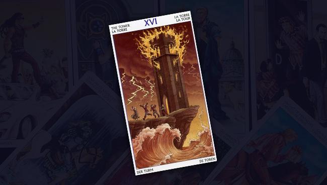 Таро 78 Дверей Башня