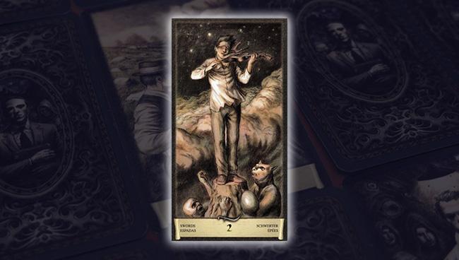 Таро Чёрный Гримуар 2 Мечей