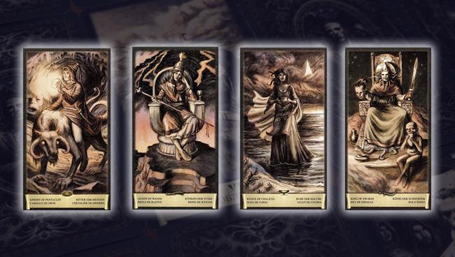Таро Чёрный Гримуар Придворные карты