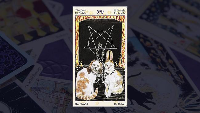 Таро Языческих Кошек Дьявол