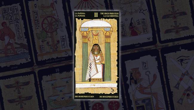 Египетское Таро Верховная Жрица