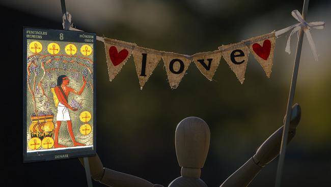 Таро-гороскоп на январь 2019 для Овнов в любви
