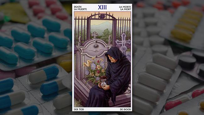 Смерть Таро 78 Дверей в здоровье