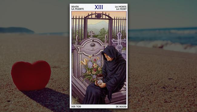 Смерть Таро 78 Дверей в любви