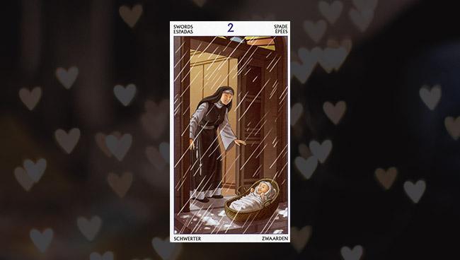 2 Мечей Таро 78 Дверей в любви
