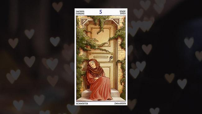 5 Мечей в Таро 78 Дверей для отношений и любви