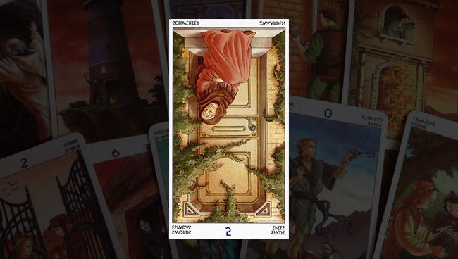 5 Мечей в Таро 78 Дверей перевёрнутое значение карты