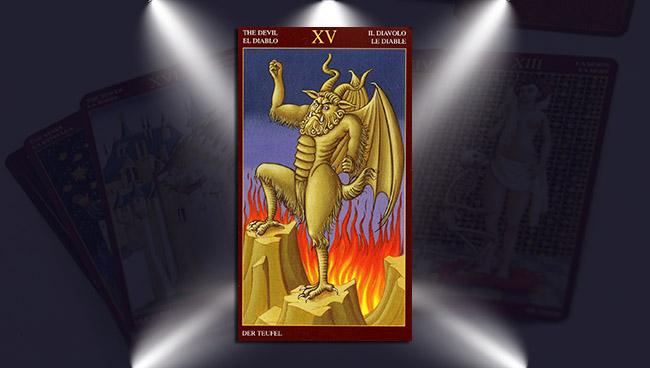 Дьявол в Средневековом Таро