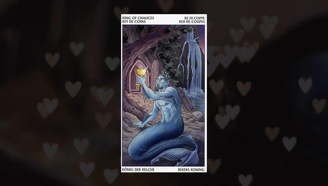 Король Кубков Таро 78 Дверей в любви