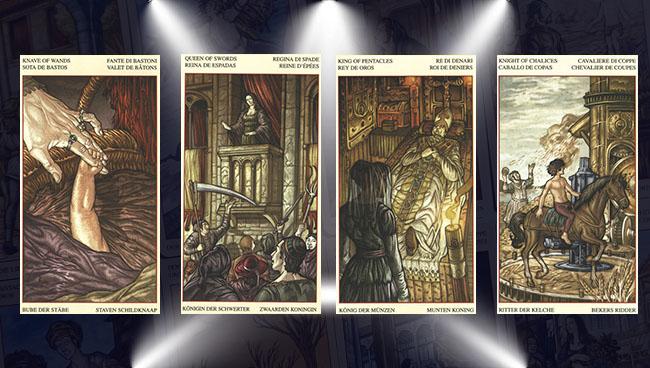 Таро Мона Лиза придворные карты