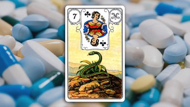 Змея Ленорман в медицинских вопросах