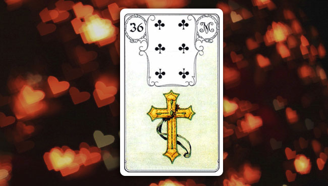 Крест Ленорман значение в любви и отношениях