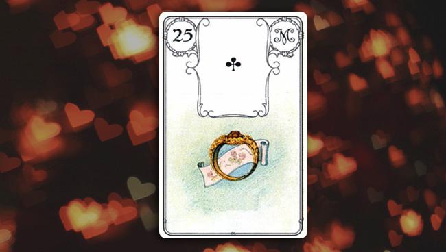 Кольцо в картах Ленорман при гадании на любовь
