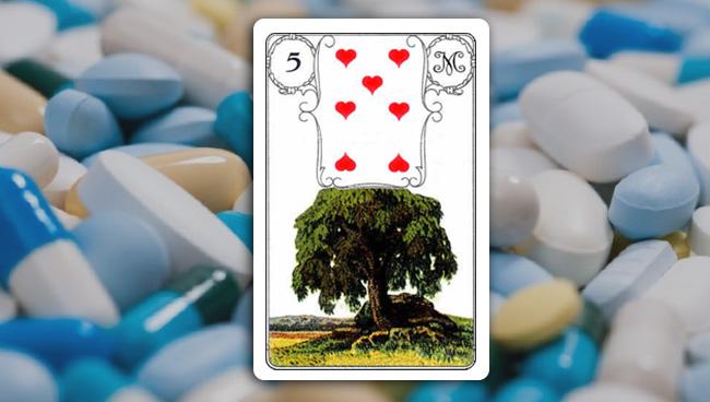 Дерево Ленорман значение в здоровье