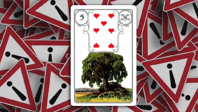 Дерево Ленорман совет