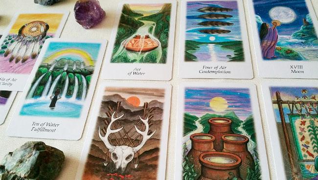 Таро Поиск Видений (Vision Quest Tarot)