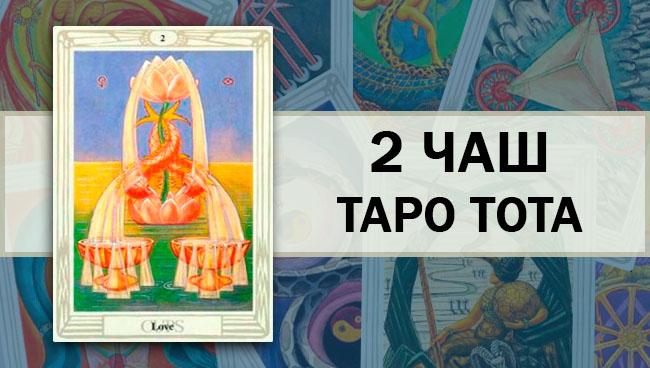 2 Чаш Таро Тота