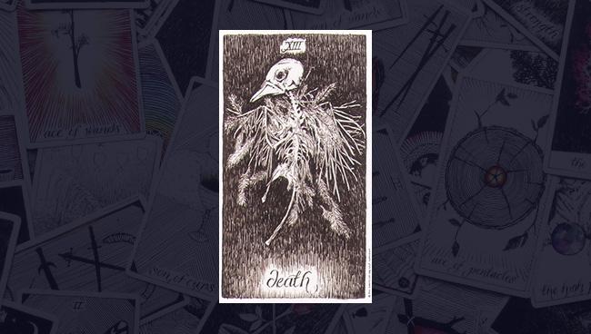 Смерть в колоде Дикое Неизвестное Таро
