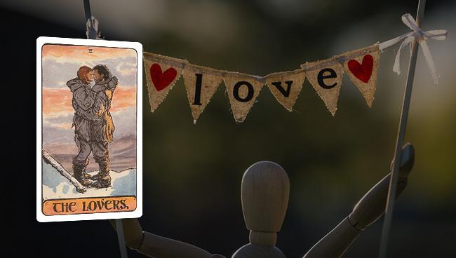 Таро-гороскоп на сентябрь для Овнов в любви